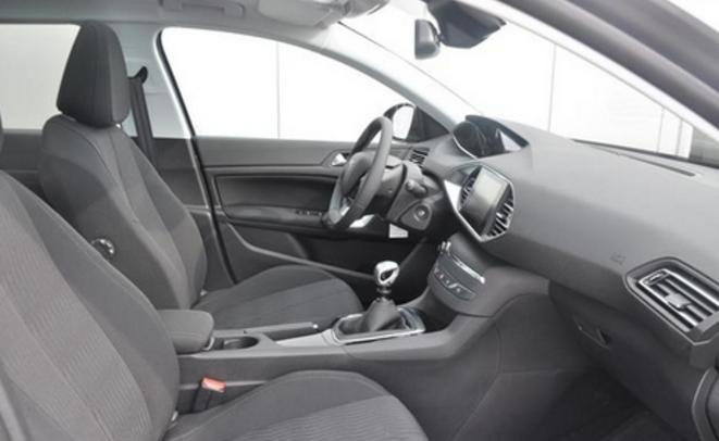 Peugeot 308 lease informatief en kennis for Binnen interieur