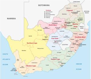 Vakantie Zuid Afrika