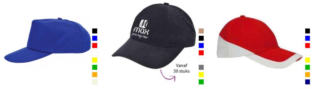 Baseball caps bedrukken